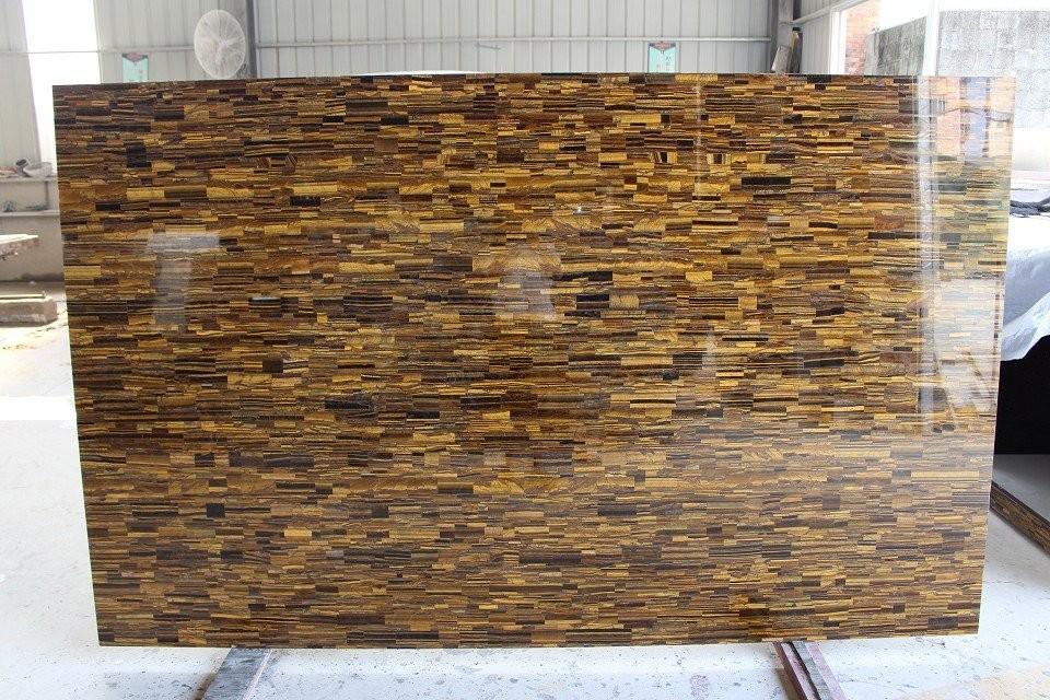 Tiger Eye Granite Wall Stone Design/granite Tile On Sale - Buy Granite ...
