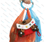 Wholesale Multiple Durable Dry Clean Shopping Plastic Grocery Bag Holder Carrier