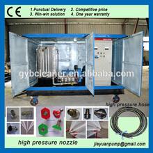 1000 bar alta presion máquina de limpieza