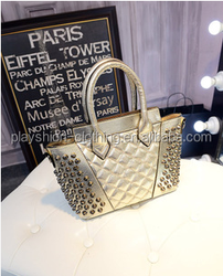 2015 Fashion joker rivet leisure brand package trendy women bags