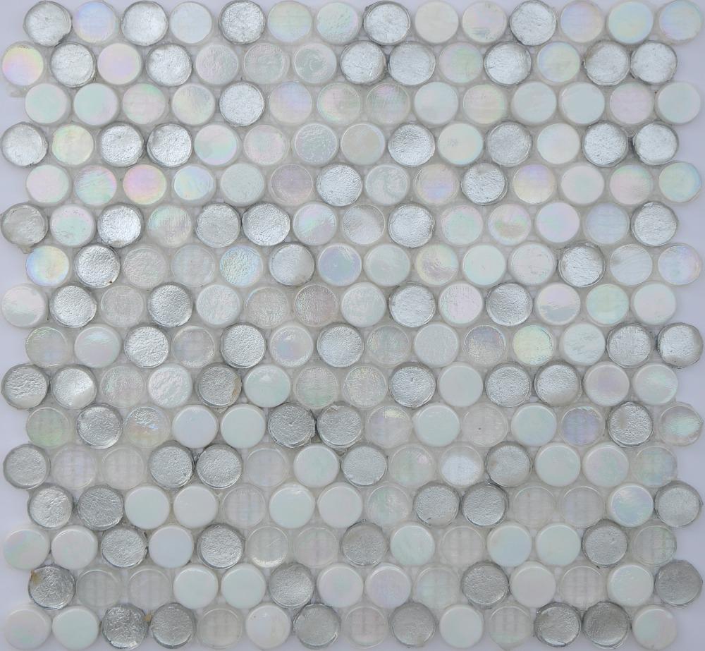 Bathroom Tiles Glass Mosaics Tile Rhombus Mosaic Glass Tile Oval ...