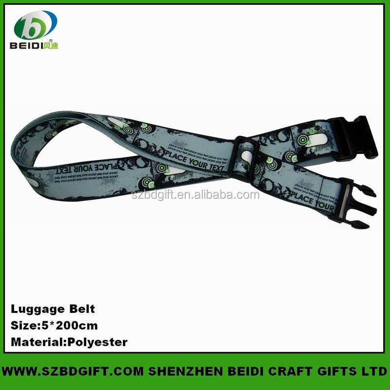 Custom polyester webbing and travel luggage belt webbing
