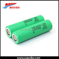 Li ion battery cell samsung inr 18650 flat top lithium primary batteries inr18650-25r samsung battery