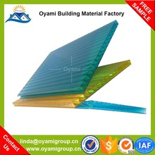 Building material plastic flat roof carports for outdoor canopy