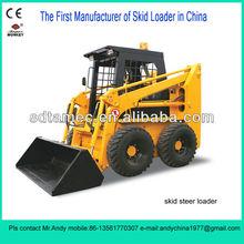 skid loader,bobcat,skid steer loader with 50hp engine,loading capacity is 700kg