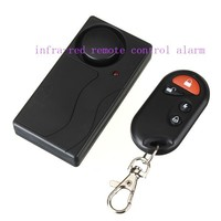 105db Wireless Vibration Alarm infra-red remote control alarm easy installment doorbell alarm