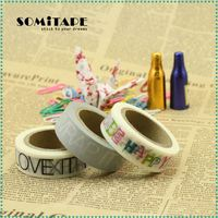 Writable Washi Tape Wholesale Book For Gift Box Wrapping