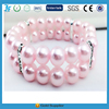 L.F 2 Rows sweet Pet Dog Cat Pearls necklace collar