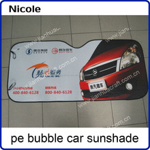 Car sunshade with Aluminum Film 140x70cm for Front windows