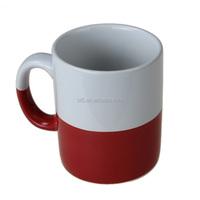 Stoneware color bulk cheap 12OZ coffee mug