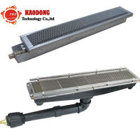 Ceramic infrared gas burner for Industrial Drying Curing Pre Heating Oven/Barbecue Grill Roaster