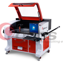 sticker label laser cutting machine with auto feeding device