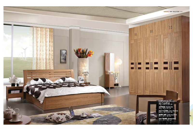 A05 1 Hotel Bedroom Furniture High Quality Solid Wood Modern Interior