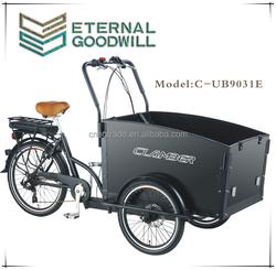 UB9031E Denmark Holland style three wheel cargobike