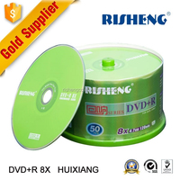 RISHENG blank dvd 8x 4.7GB DVD/wholesale blank dvd discs 8x/recordable blank princo 8x