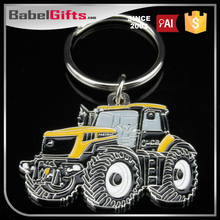 Factory direct sale custom metal car shaped keyring