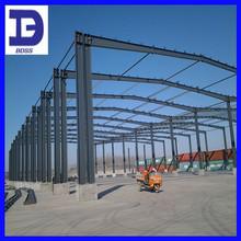low cost steel structure prefab workshop