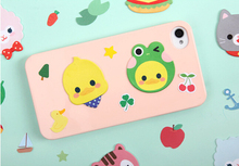 Cute microfiber adhesive screen cleaner ,sticky mobile phone cleaner