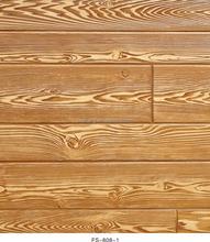 Wholesale FS-808 fireproof wallpaper 3d effect wood wall panel