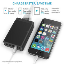 40W 8A 5 USB PortS High Speed Desktop USB Charger with PowerIQ Technology to Deliver the Fastest Speed
