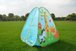 2015 hot sale portable chilren play tent