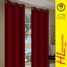 NBHS delivery on time quality thickening sun-shading blackout hotel curtain