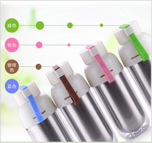 Colorful double wall bottle Heat insulation stainless steel water bottle for gift
