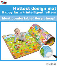 2 sides printing cheap crawl waterproof baby play mat