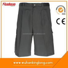 100%cotton solid color summer wear cheap shorts for men