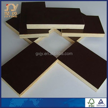 E1 standard phenolic glue black film faced plywood