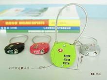 The Most Popular Design Mini 3 Digit Combination Luggage Bag Code Lock