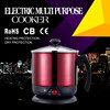 110V/220V 1.8L 1000W ul electric steamer cooker ce cb approved used electric cookers