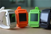 Original Manufacture MP4 watch player sillicon band with Ebook can cheat exam