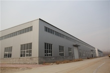 luxury prefabricated heat resisting steel warehouse in cleveland ohio