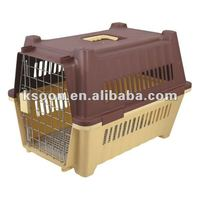 Functional Dog Cages with Aviation Net/ Pet Travel Carrier/ Pet box with Aviation Net