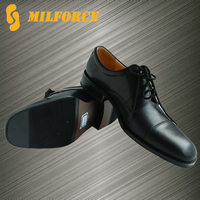 UK style promotion new design good quality leather men safety office shoes