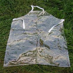 plain style polyester pvc gardening apron