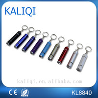 Promotional Cheap MINI Torch Long Continuous run time Flash LED Keychain light