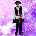 Mc-0019 festa de carnaval homens adultos halloween trajes Zorro