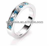 Stainless steel diamond rings fashion lover jewels prices