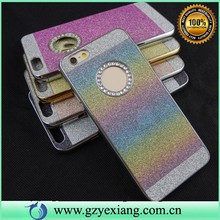 China new arrive phone case wholesale shining bling bling PC hard cover case For iphone 6 plus