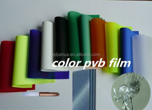 Competitive price blue pvb Strech film for winsheilds laminated glass with ISO9001