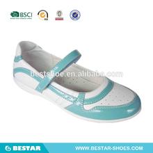 2015 relucientes zapatos de la escuela de las niñas superiores de moda. niñas zapatos de vestir de cuero