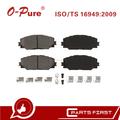 Pastillas De Freno 04465-02220 De China Baratos Auto Partes Compatibles Para Toyota Corolla