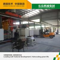 dongyue auto autoclave aerated brick machine heat insulation light weight block machine hot sale