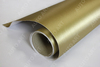 Car Wrapping Vinyl Gold Brushed Metal Film with air free bubble