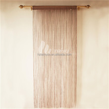 Thick long polyester metal bead string curtain