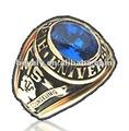 Позолоченное кольцо выпускника
