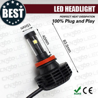 domestic aluminium G6 mini adaptor auto led head lamp h4 motorcycle light