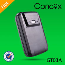 Concox Manufacture Cost-effective Large Capacity Battery GT03A Mini GPS GPRS Personal Tracker Can Set 4 SOS Number